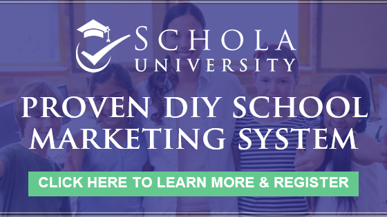 Schola University | Proven DIY School Marketing System