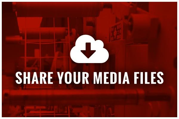 Share your media files upload