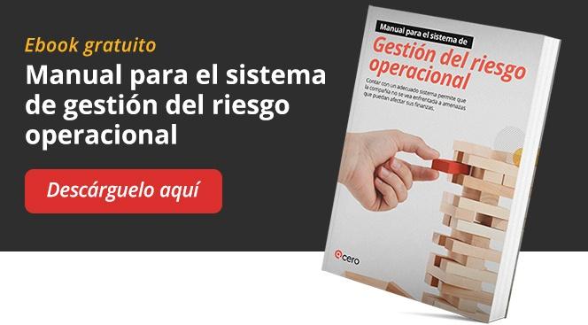 Descargue el manual para el sistema de gestión del riesgo operacional