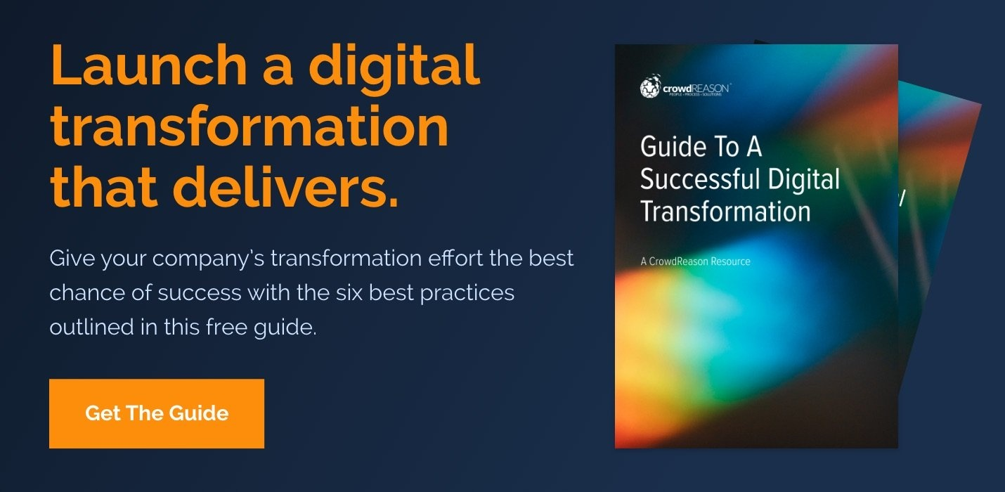 Download Now: Guide To A Successful Digital Transformation