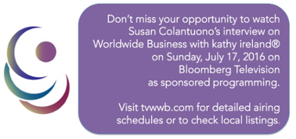 Watch Susan Colantuono on Worldwide Business with kathy ireland
