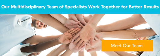 Meet out team of specialists that work together for better concussion treatment outcomes
