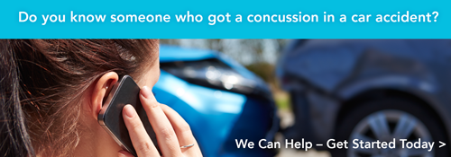Do you know someone who got a concussion in a car accident? We can help!