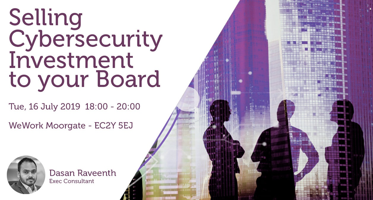 A link to this week's Cyber Security event.