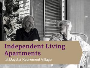 55 Plus Senior Apartments at Daystar Retirement Village