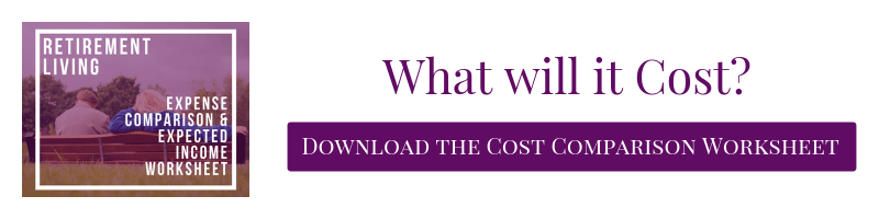 What will it cost? Download Cost Comparison Worksheet