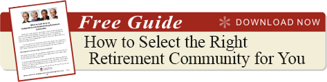 select-the-right-retirement-community-guide