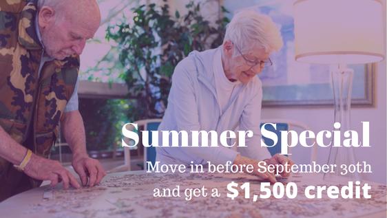 Daystar Summer Move-in Special