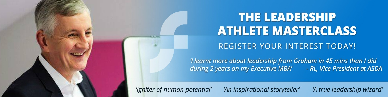 Register Interest for the next Leadership Athlete Masterclass