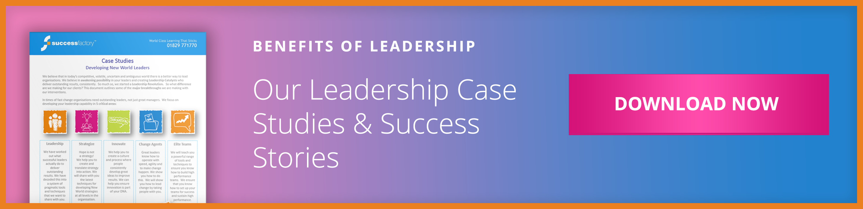 Our Leadership Case Studies & Success Stories CTA