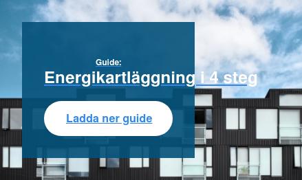 Guide: Energikartläggning i 4 steg Ladda ner guide