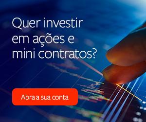 Quer investir em ações e mini contratos?