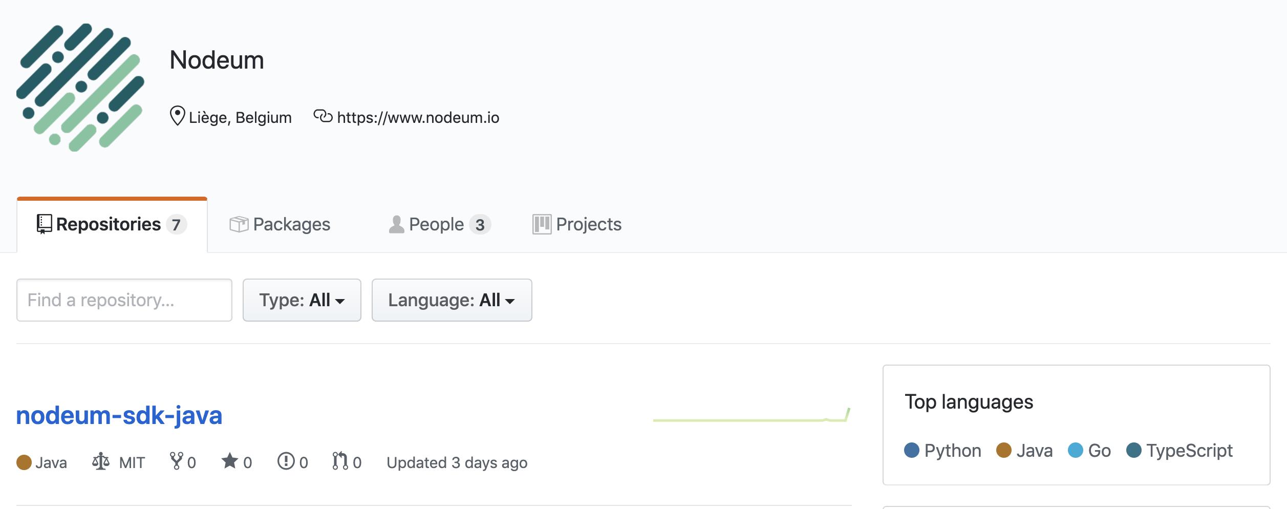 Nodeum GitHub