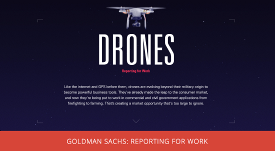 Goldman Sachs: Reporting for Work