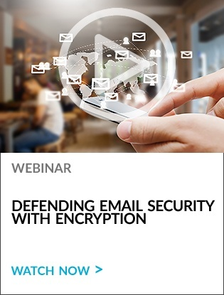 Using Encryption to Defend Email Security