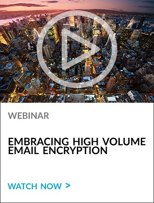 Embracing High Volume Email Encryption