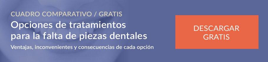 OPCIONES DE TRATAMIENTOS PARA LA FALTA DE PIEZAS DENTALES