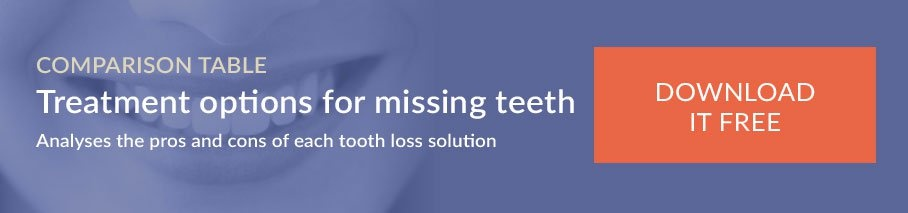 Treatment options for missing teeth