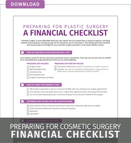 Download Plastic Surgery Financial Checklist