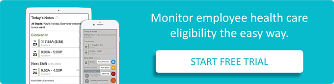 Monitor employee health care eligibility the easy way