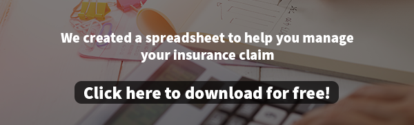 Download Insurance Claim Management Spreadsheet