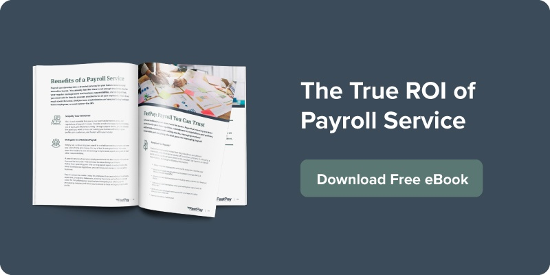 The True ROI of Payroll Service | download free ebook
