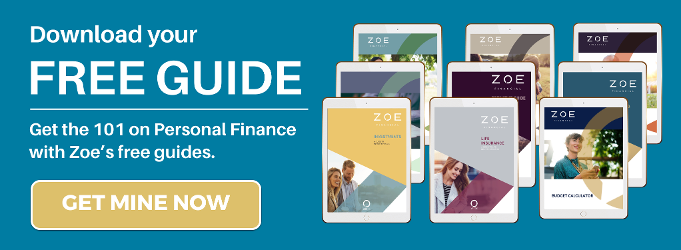 Free personal finance resources - downlaod guides - ebook - zoe financial