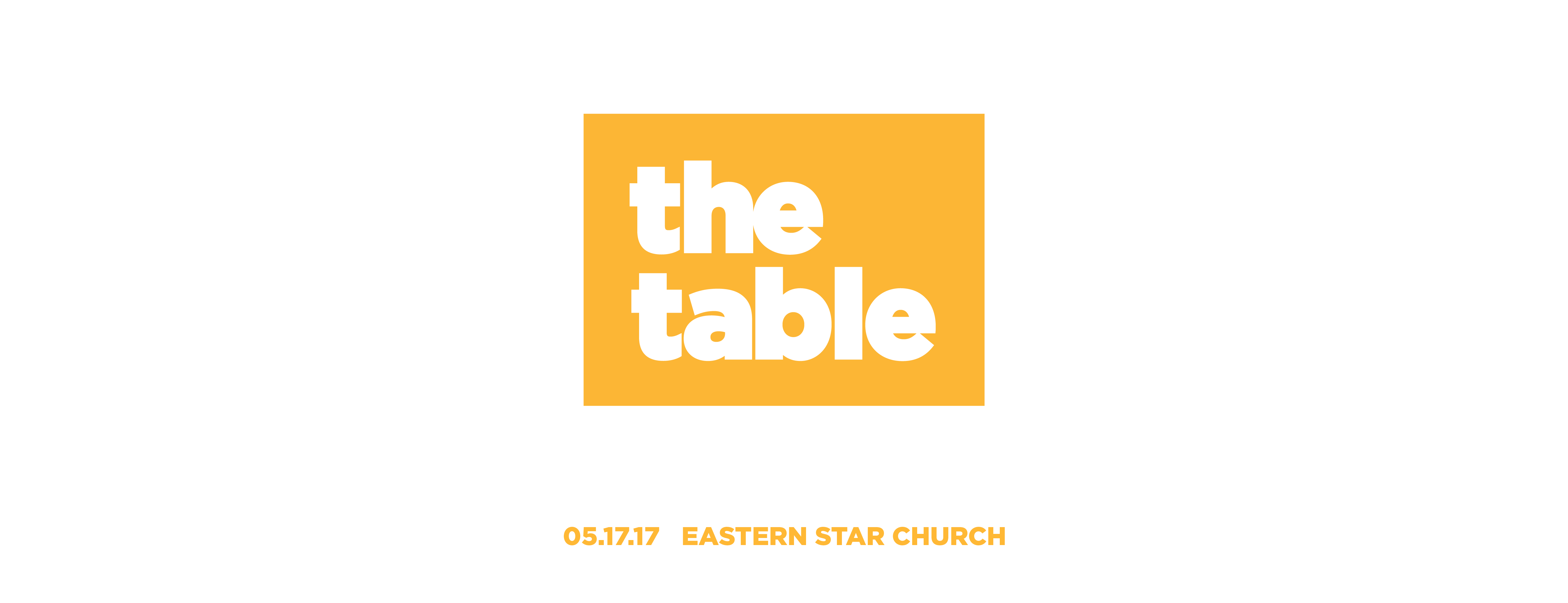 Join us around The Table.