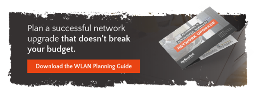 Plan a successful network upgrade that doesn't break your budget. Download the WLAN planning guide
