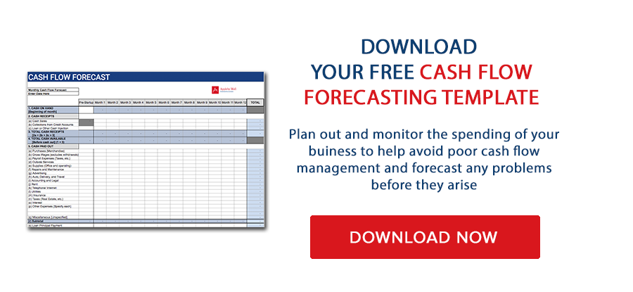 Download your free cash flow forecasting template