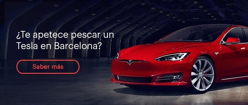 ¿Te aprece pescar un Tesla en Barcelona?