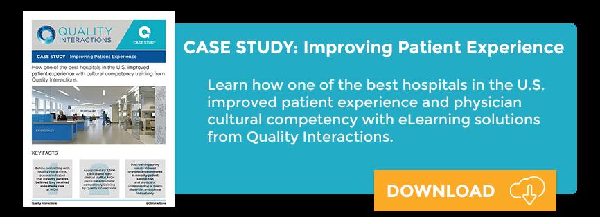 Case Study: Improve Patient Experience