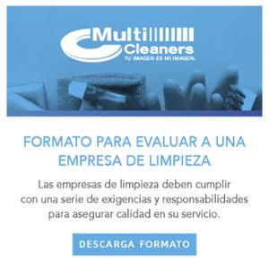 Descargable -  Formato para evaluar a una empresa de limpieza