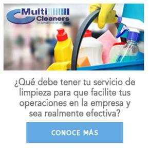 ¿Qué debe tener tu servicio de limpieza para que facilite tus operaciones en la empresa y sea realmente efectiva?
