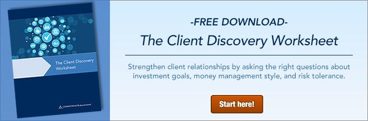 The Client Discovery Worksheet