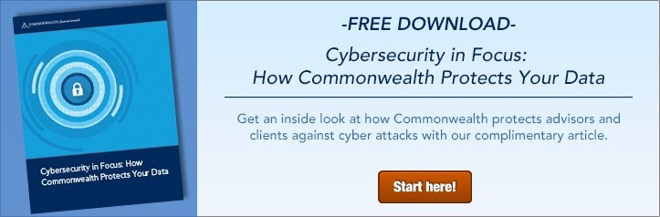 Cybersecurity in Focus: How Commonwealth Protects You Data