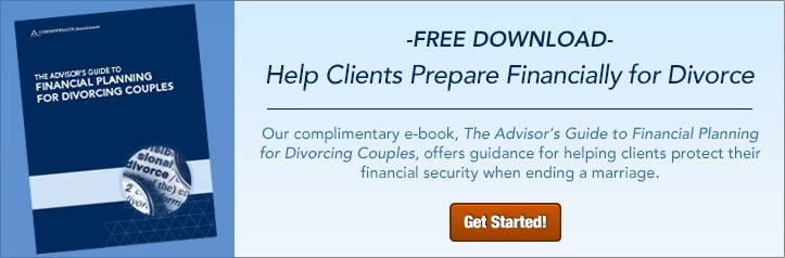 The Advisor's Guide to Financial Planning for Divorcing Couples