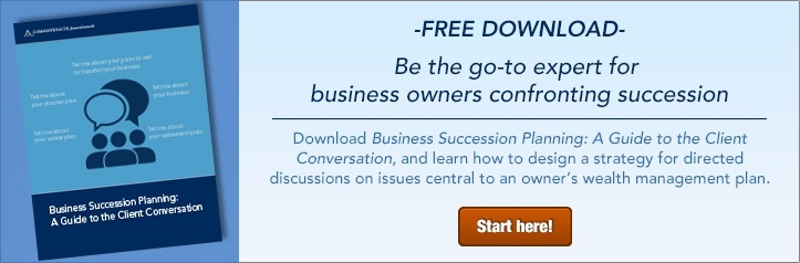 Business Succession Planning: A Guide to the Client Conversation