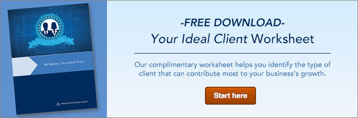 Ideal Client Worksheet