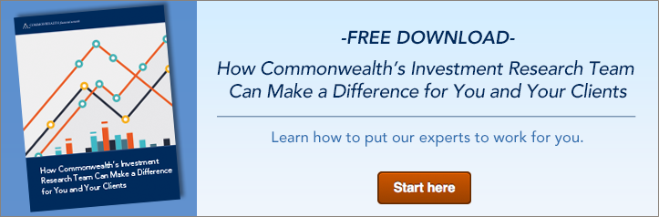 How Commonwealth's Investment Research Team Can Make a Difference for You and Your Clients