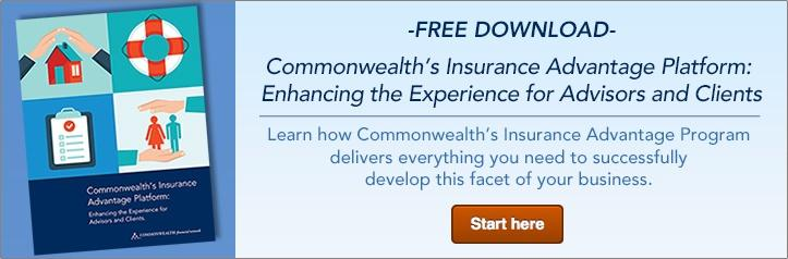 Commonwealth's Insurance Advantage Platform: Enhancing the Experience for Advisors and Clients