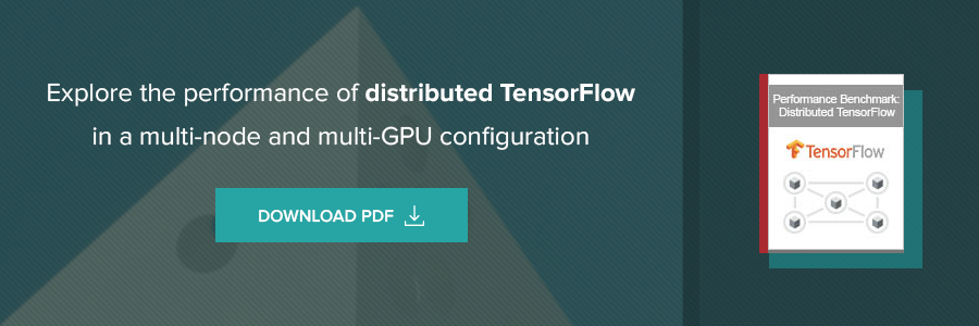 Performance of Distributed TensorFlow