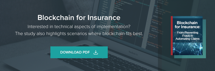 Blockchain for Insurance. Interested in technical aspects of implementation?