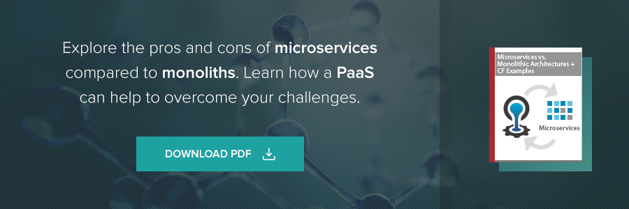 Explore the pros and cons of microservices compares to monoliths. Learn how a PaaS can help to overcome your challenges
