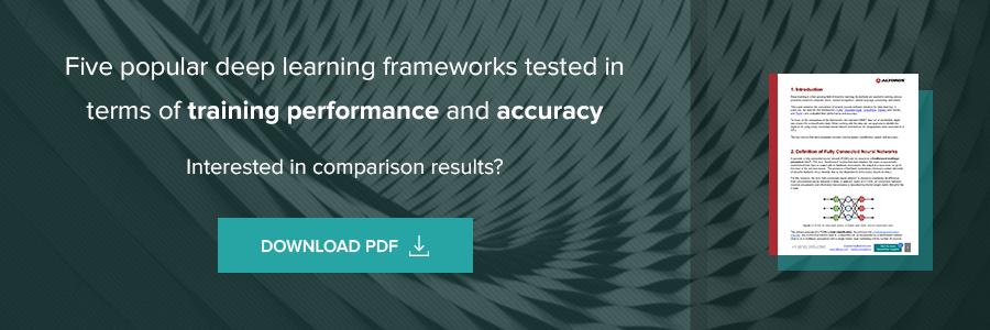 Performance of Deep Learning Frameworks