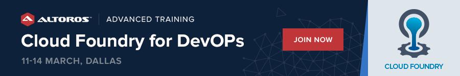 Cloud Foundry for Devops  public training Dallas