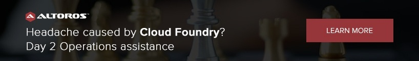 Headache caused by Cloud Foundry? Day 2 Operations assistance