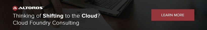 Thinking of Shifting to the Cloud? Cloud Foundry Consulting