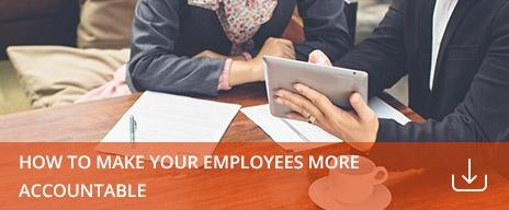 make employees more accountable free guide