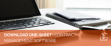 Contract Management Software Flyer